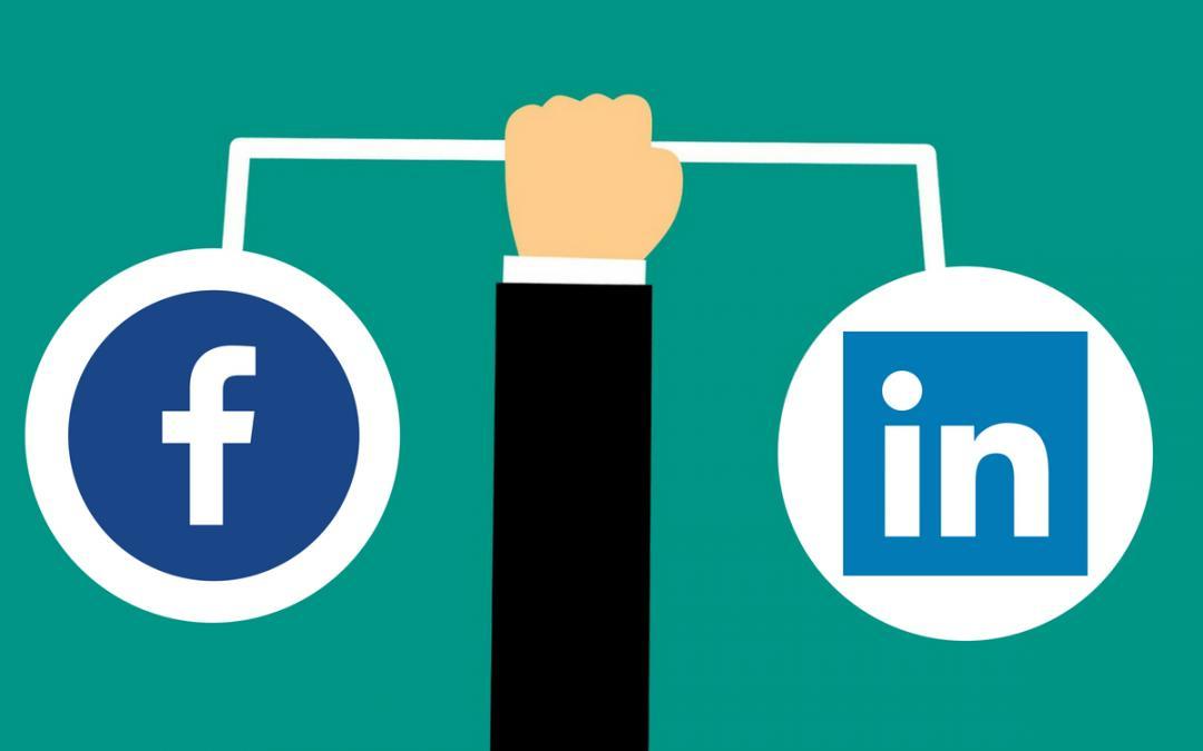 LinkedIn và Facebook