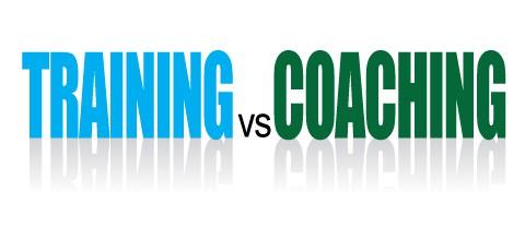 TRAINING vs COACHING?