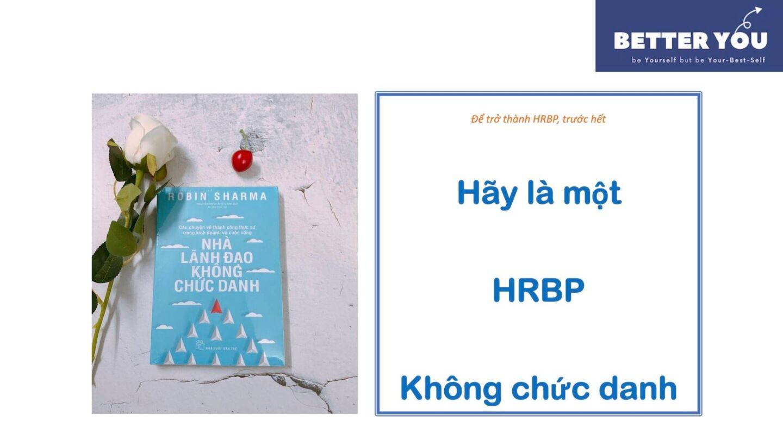Những điều mình học được về vị trí HRBP